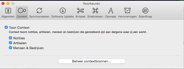 OSX Context