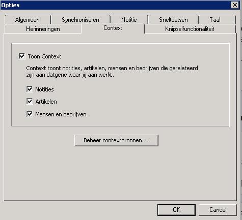 Windows Context